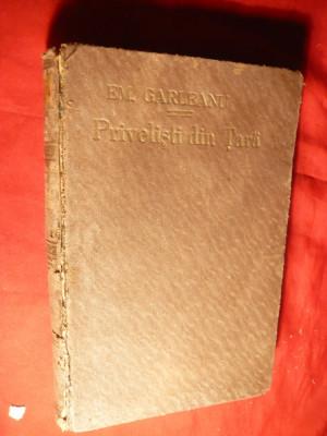 Emil Garleanu - Privelisti din Tara ,Schite , Insemnari - Ed. 1925 foto