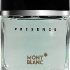 Parfum Original Men Mont Blanc Presence 75 ml EDT 180 Ron TESTER - Parfum barbati Mont Blanc, Apa de toaleta