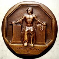 5.161 MEDALIE GERMANIA REICH 1930 30, 5mm, Europa