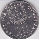 PORTUGALIA 20 ESCUDOS 1999 KM# 634.1, Europa