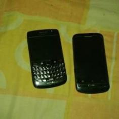 Telefonu arata si fuctioneaza perfect - Telefon BlackBerry, Negru, <1GB, Neblocat, Single core, 512 MB