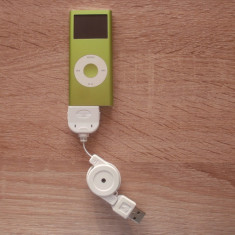 Apple iPod 4 GB, procesor Samsung ARM* - iPod Nano Apple, Verde