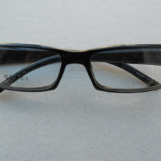 Lentile Gucci - model 130 GG 1438 179 euro! Originali! unisex - Rama ochelari Dior, Negru, Dreptunghiulare, Plastic, Rama intreaga