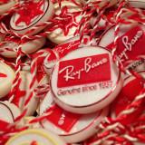 380 Sigilii ochelari soare vedere aviator medalion   BRELOC TAG RAY BAN