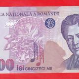 Bnk bn romania 50000 lei 1996 aunc - Bancnota romaneasca