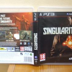 Singularity (PS3) (ALVio) + sute de alte Jocuri PS3 Activision ( VAND SCHIMB ), Actiune, 18+