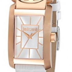 Just Cavalli R7251152502 ceas dama nou 100% veritabil. Garantie.In stoc - Livrare rapida., Elegant, Quartz, Inox, Piele, Rezistent la apa