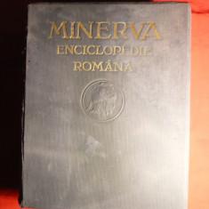 Minerva- Enciclopedia Romana 1930 -Ed.Minerva Cluj, 976pag., harti, foto - Enciclopedie