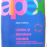 BACALAUREAT 2006 - LIMBA SI LITERATURA ROMANA - Subiecte rezolvate de tip I proba orala, Alina Croitoru, 2005. 48 subiecte. Absolut noua
