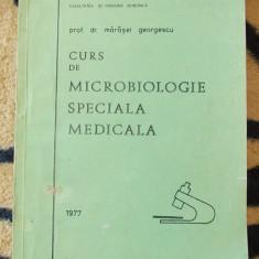 CURS DE MICROBIOLOGIE SPECIALA MEDICALA - PROFESOR DR.MARESEL GEORGESCU, FACULTATEA DE FARMACIE SI MEDICINA BUCURESTI - Carte Farmacologie
