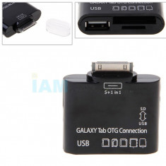 Samsung Galaxy Tab 2 P3100 P5100 5 in 1 adaptor SD CARD + expediere gratuita OTG Connection - Adaptor PDA