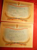 2 Diplome UCFS Cupa Steaua la Kaiac 1962