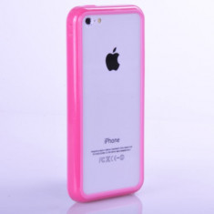 Bumper roz Iphone 5G +  folie protectie ecran + expediere gratuita Posta - sell by Phonica