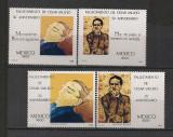 Mexic.1988 Comemorare C.Vallejo-poet  SM.587
