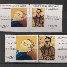 Mexic.1988 Comemorare C.Vallejo-poet SM.587 - Timbre straine