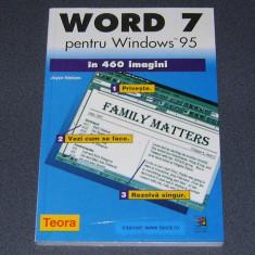 WORD 7, pentru Windows 95, manual de utilizare - Carte tehnoredactare, Teora