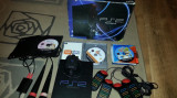 Consola  Sony Playstation 2 ps2 buzz singstar si eye toy camera + 4 jocuri ps 2