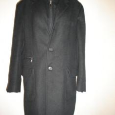 Palton Enrico Coveri, modern, slim, 100% original - Palton barbati, Marime: L, Culoare: Antracit, L