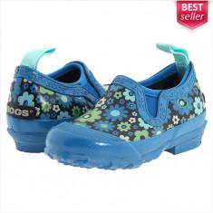 Papuci de Cauciuc BOGS Rue - Sandale Dama, Femei - Impermeabili - 100% AUTENTIC - Papuci dama, Culoare: Albastru, Marime: 37