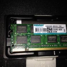 Kingmax 2gb ddr2 800mhz 1 x 2gb - Memorie RAM Kingmax, Dual channel