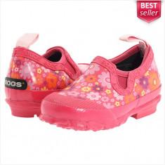 Papuci de Cauciuc BOGS Rue - Sandale Dama, Femei - Impermeabili - 100% AUTENTIC - Papuci dama, Culoare: Roz, Marime: 37, 38, 39