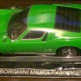 Macheta metal DeAgostini - Lamborghini Miura - NOUA, SIGILATA din colectia Automobile de Vis, Scara 1:43 + revista nr.22 - Macheta auto