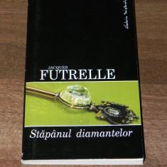 JACQUES FUTRELLE - STAPANUL DIAMANTELOR - Carte de aventura
