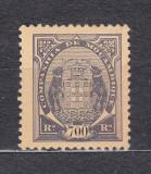Mozambic 1902 - Stema - Necirculat - MLH