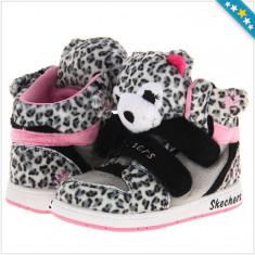 Adidas SKECHERS Lil Cudlers - Adidas Copii, Fete - 100% AUTENTIC - Ghete copii Skechers, Marime: 26.5, Culoare: Din imagine
