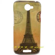 Husa protectie HTC ONE S silicon rigid antiradiatii - Husa Telefon HTC, Galben, Plastic
