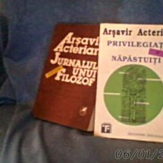Jurnalul unui pseudofilozof de arsavir acterian - Carte veche