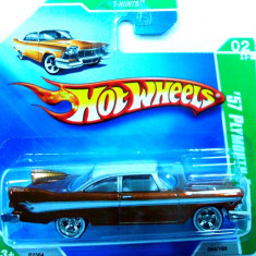 HOT WHEELS -TREASURE HUNT$-'57 PLYMOUTH FURY ++2501 LICITATII !! - Macheta auto Hot Wheels, 1:64
