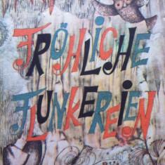 FROHLICHE FLUNKEREIEN - Hans Mokka (carte povesti in limba germana) - Carte de povesti
