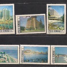 No(08)timbre-Romania 1982-L.P.1058- Statiuni balneo-climaterice