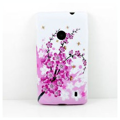 Husa silicon Nokia Lumia 520 silicon + folie protectie ecran
