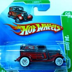 HOT WHEELS-TRESURE HUNT$ -1934 FORD ++2501 DE LICITATII !! - Macheta auto
