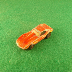 Hot Wheels CORVETTE STINGRAY c.1980 Mattelinc. Made in Malaysia - Macheta auto Hot Wheels, 1:64