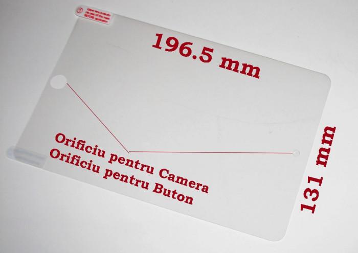 Folie protectie tableta iPad mini, clear, 7.9 inch foto mare