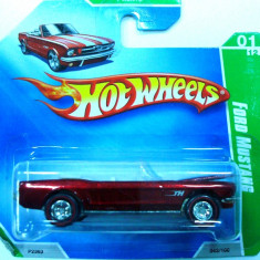 HOT WHEELS-TREA$URE HUNT$-FORD MUSTANG 1964 1/2 ++ 2501 LICITATII !! - Macheta auto Hot Wheels, 1:64