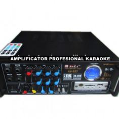 AMPLITUNER 80WATT,MP3 USB,RADIO,INT.MIC.KARAOKE,EQ GRAFIC,TELECOMANDA+MICROFON., 41-80W