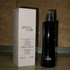 PARFUM GIORGIO ARMANI CODE 125 ML - TESTER 100% ORIGINAL - Parfum barbati Armani, Apa de toaleta