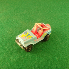 Hot Wheels JEEP c.1990 Mattelinc. Made in Malaysia - Macheta auto Hot Wheels, 1:64