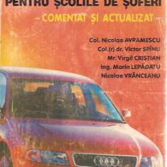 CURS DE LEGISLATIE RUTIERA PENTRU SCOLILE DE SOFERI-COMENTAT SI ACTUALIZAT- 1999  , 13