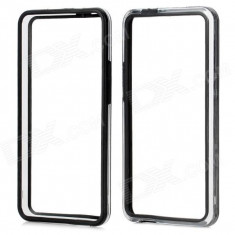 Bumper Htc One + folie protectie ecran + expediere gratuita - Bumper Telefon, Negru