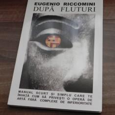 EUGENIO RICCOMINI - DUPA FLUTURI. MANUAL SCURT SI SIMPLU CARE TE INVATA CUM SA PRIVESTI O OPERA DE ARTA FARA COMPLEXE DE INFERIORITATE - Album Arta