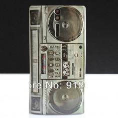 Husa model casetofon Sony Xperia S LT26i + expediere gratuita, Silicon, Carcasa