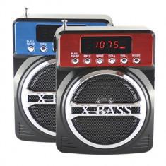BOXA MP3 RADIO FM X-BASS KEMAI CARD MICRO SD, USB, ACUMULATOR SI AFISAJ - MP3 player