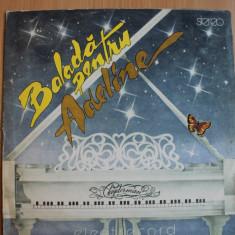 Clayderman - Balada pentru Adeline - Muzica Ambientala electrecord, VINIL