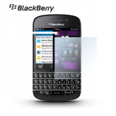 FOLIE PROTECTIE BLACKBERRY Q10 - Folie de protectie Blackberry, Lucioasa