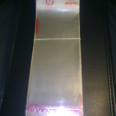 PUNGA / PUNGI / PUNGUTE AMBALAJ MARTISOR / MARTISOARE (pret/100 buc) 6.5 cm latime x 14 cm lungime